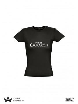 Camiseta Chica Logo (Eterno Camarón) Producto Oficial