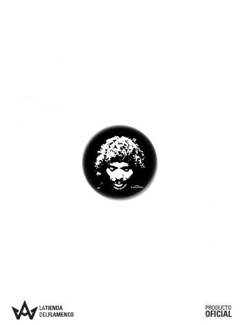 Chapa 25 mm. Logo (Eterno Camarón) Producto Oficial