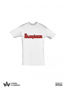Camiseta Chico Letras de Los Delinqüentes