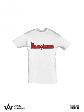 Camiseta Chico Letras (Los Delinqüentes) Producto Oficial