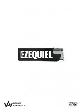 Encendedor Negro Logo de Ezequiel Benitez