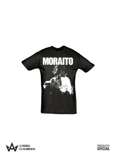 Camiseta Hombre Negra Moraito Chico Imagen