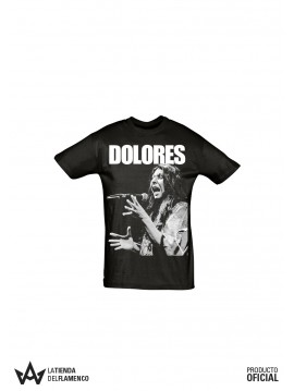 Camiseta Hombre Negra Dolores Agujeta Imagen