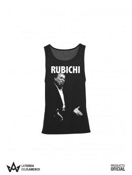 Camiseta de Tirantas de Mujer Negra Rubichi