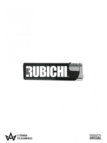 Encendedor Negro Rubichi Logo