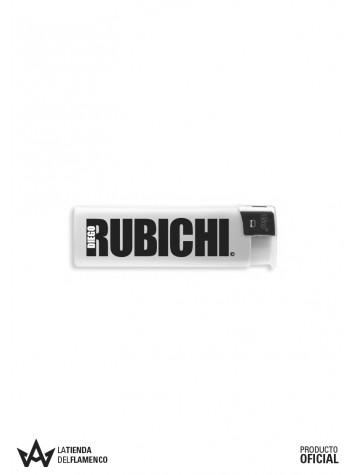 Encendedor Blanco Rubichi Logo