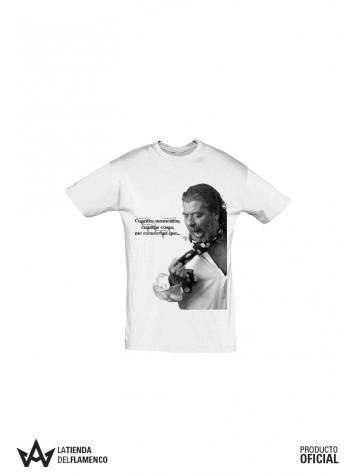 Camiseta Homenaje a El Torta Hombre Blanca