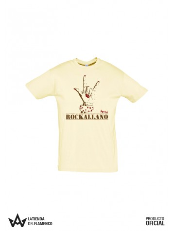 Camiseta Chico Beig Rockallano de Astola
