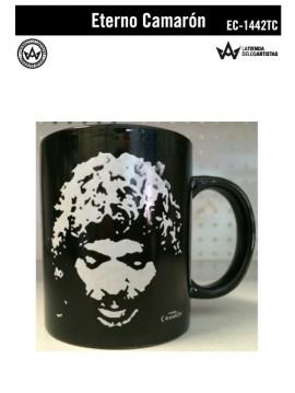 Taza de cerámica Cara (Eterno Camarón) Producto Oficial