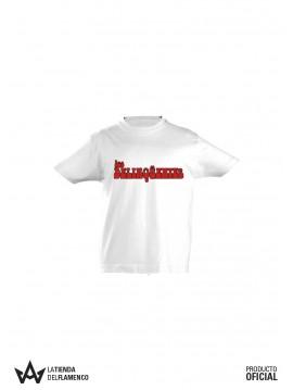 Camiseta Niño Letras (Los Delinqüentes) Producto Oficial