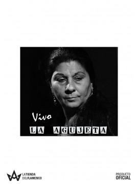 CD Dolores La Agujeta en Vivo Firmado