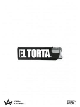Encendedor Negro Juan Moneo EL TORTA Logo