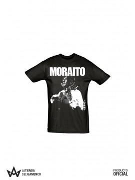 Camiseta Unisex Negra Moraito Chico Imagen