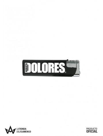Encendedor Negro DOLORES AGUJETA Logo