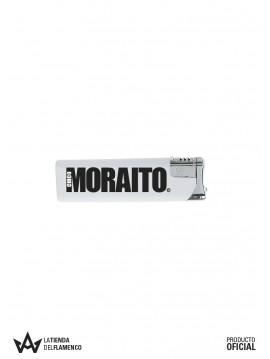 Encendedor Blanco Moraito Chico Logo