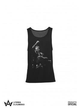 Camiseta de Tirantas de Mujer Negra Diego del Morao