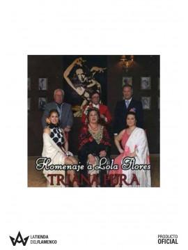 """CD Triana Pura """"Homenaje a Lola Flores"""""""