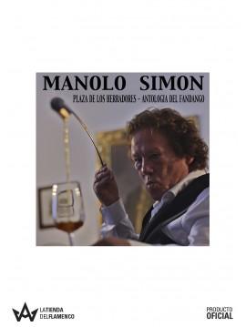 """CD Manolo Simón """"Plaza de los Herradores - Antología del Fandango"""""""