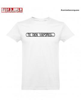 Camiseta Te Den Vapores