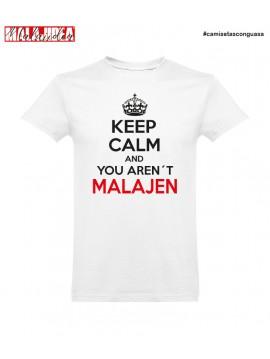 Camiseta Keep Calm Malajen