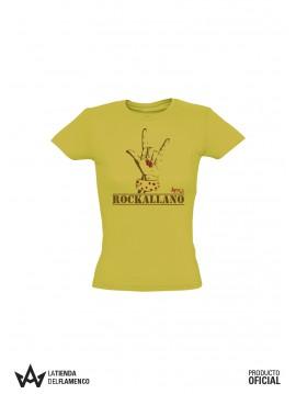 Camiseta Chica Miel Rockallano de Astola