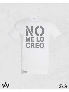 Camiseta Blanca NO ME LO CREO - Juan Peña