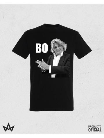 Camiseta Negra Homenaje Bo Imagen
