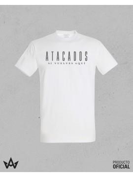 Camiseta Blanca SI VUELVES AQUÍ - Atacados