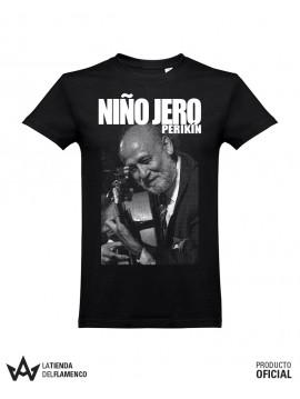 Camiseta Unisex Negra PERIKIN NIÑO JERO