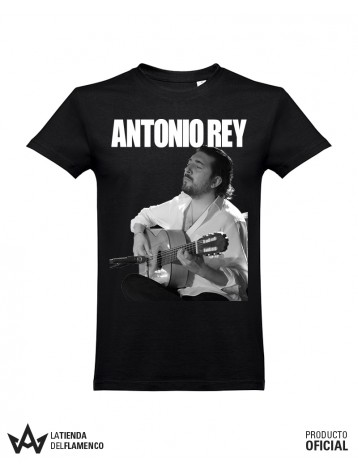 Camiseta Unisex Negra ANTONIO REY