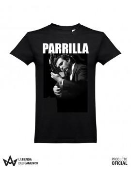 Camiseta Unisex Negra PARRILLA DE JEREZ