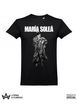 Camiseta Unisex Negra MARÍA SOLEÁ