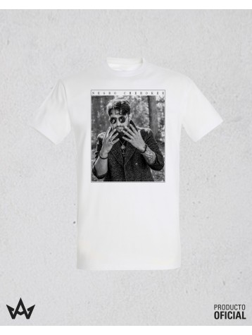 Camiseta Blanca Cherokee Imagen Manos