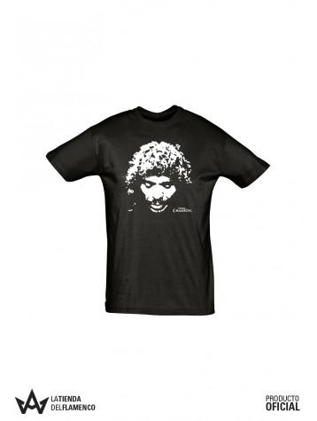 Camiseta Chico Cara (Eterno Camarón) Producto Oficial